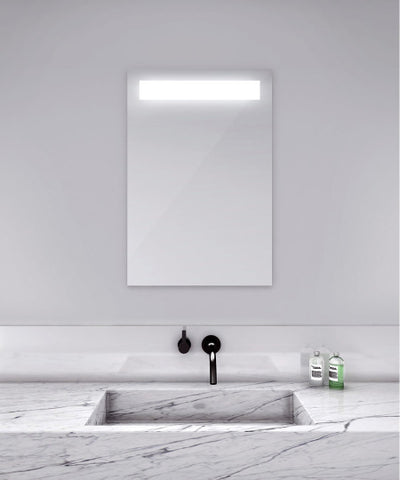 "Quantum Lighted Mirror 48""W x 40"""