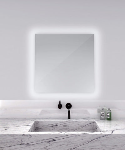 "Serenity Lighted Mirror 30""W x 30""H"