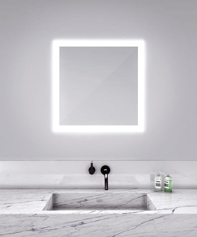 "Silhouette Lighted Mirror 30""W x 30"""