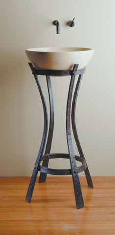 IRON RIBBON PEDESTAL