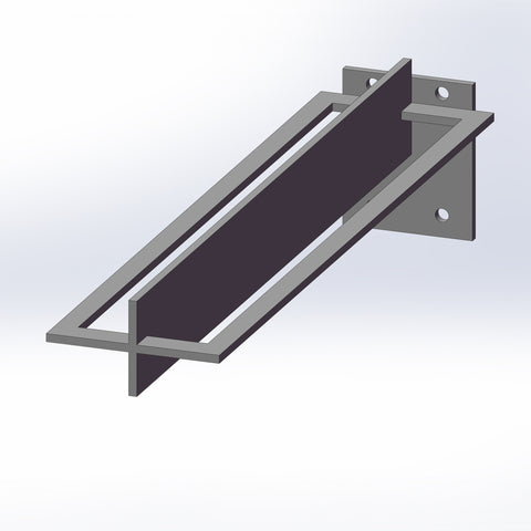 STAINLESS BRACKET FOR FLOATING COUNTER