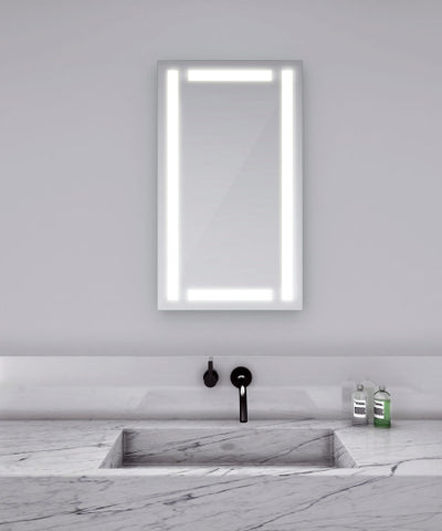 "Efinity Lighted Mirror 18""W x 44""H"