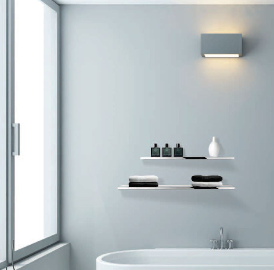 Montaggio Floating Stainless Steel Shower Shelf