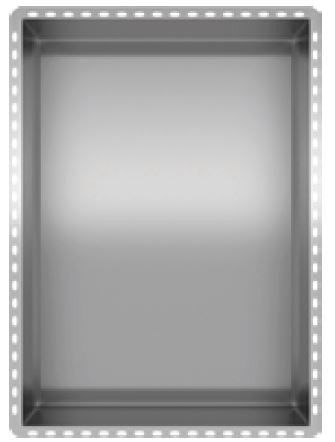 "Recessed Stainless Steel Shower Niche : 12"" Wide 18"" Tall"