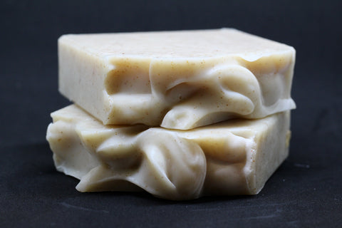 Beer Soap:  Beer Mint Soap w/ Ground Walnut Shells