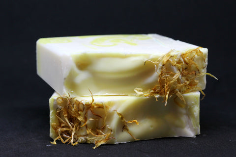 Herbal Soap:  Chamomile