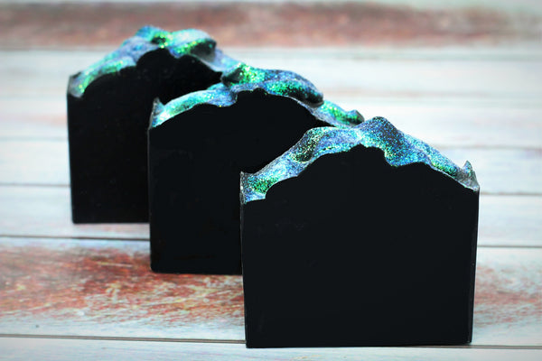 Activated Charcoal Soap: Charcoal Lavender & Tea Tree Soap