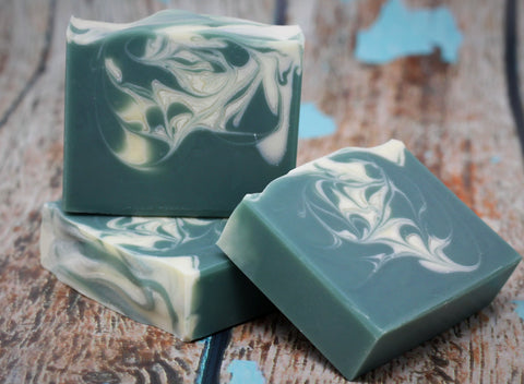 Green Soap:  Clover & Aloe Soap