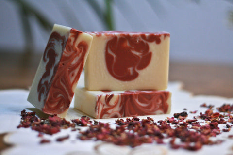 Fruity Soap:  Cranberry Fig Silk Soap