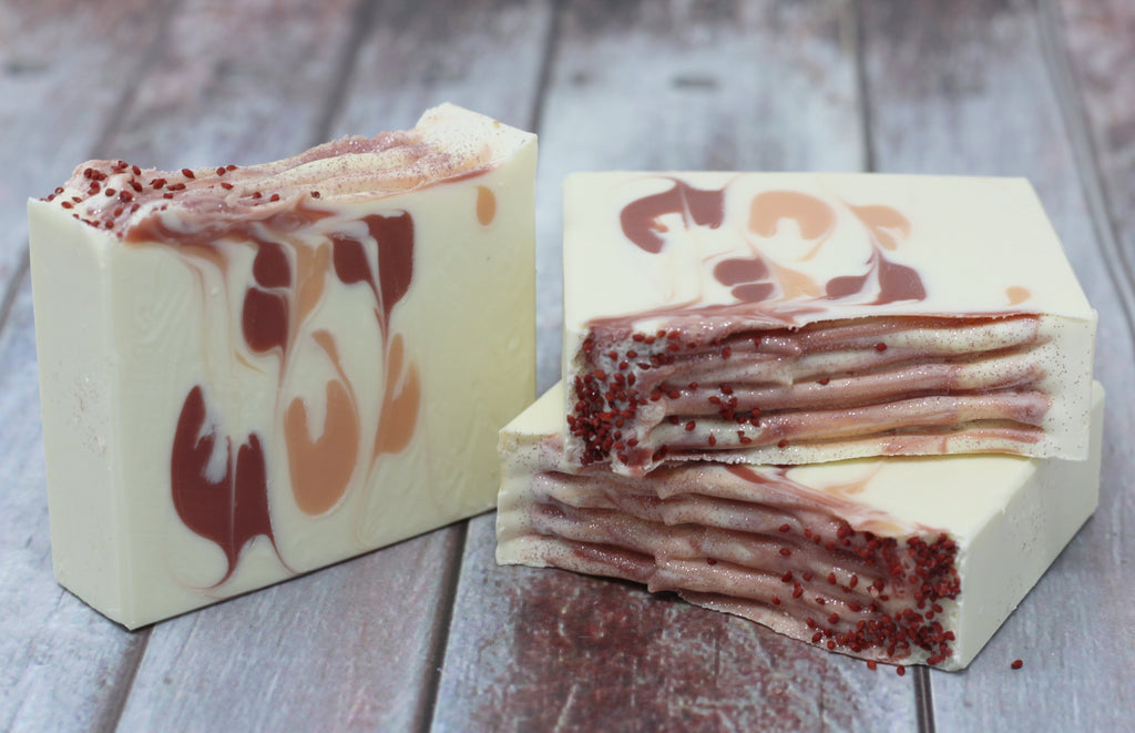 Holiday Soap: Cranberry Orange Soap