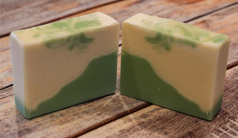 Green Tea and White Pear Soap