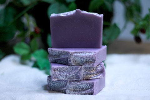 Lavender Soap:  Lavender Forest Silk Soap