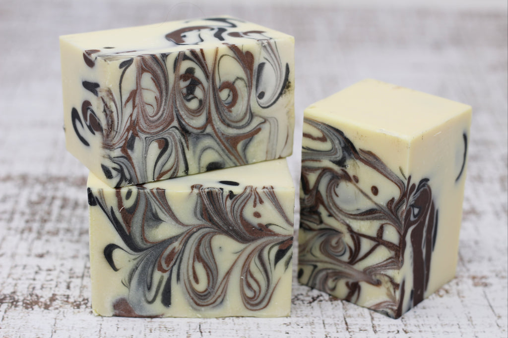 Artisan Soap: Midnight Bourbon Soap