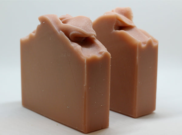 Peppermint, Rose Clay, Goats Milk Soap