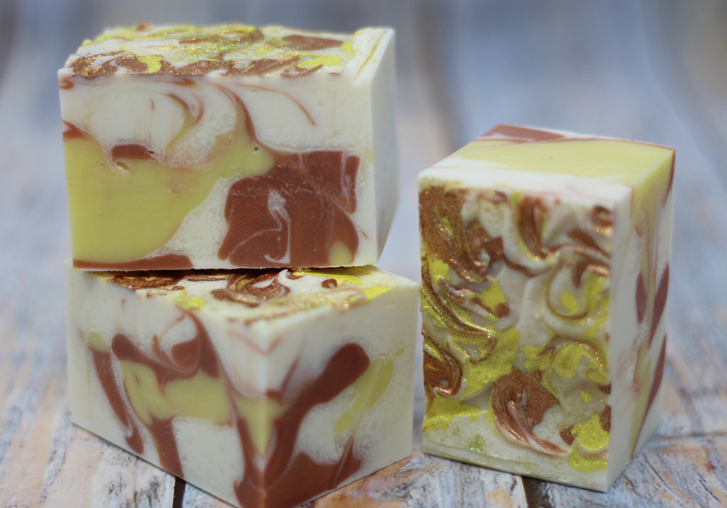 Artisan Soap: Sparkling Ginger Soap