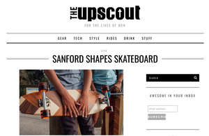 Sanford Shapes featured on The Upscout!