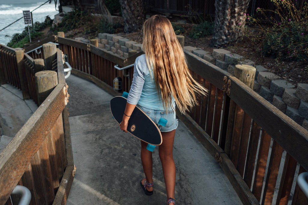 sanford shapes-handcrafted-skateboard-longboard-leucadia-california-surfer-surfer girl-pacific coast-encinitas-d street