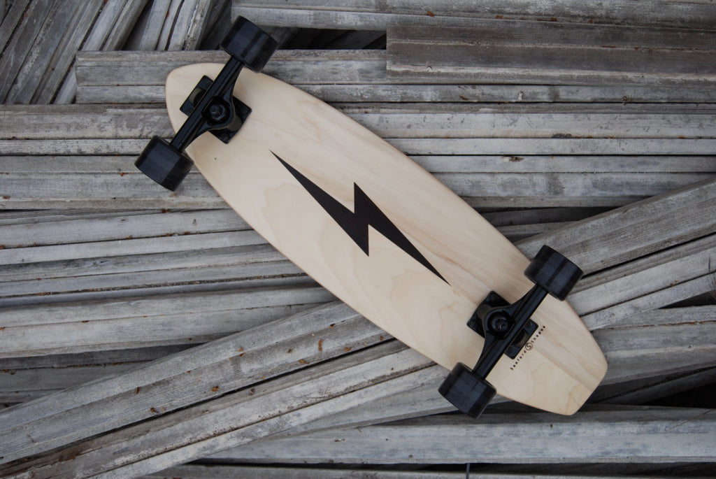 sanford shapes-handcrafted-skateboard-leucadia-california-skateboarding-surfing-skate-surf-mini cruiser-bolt
