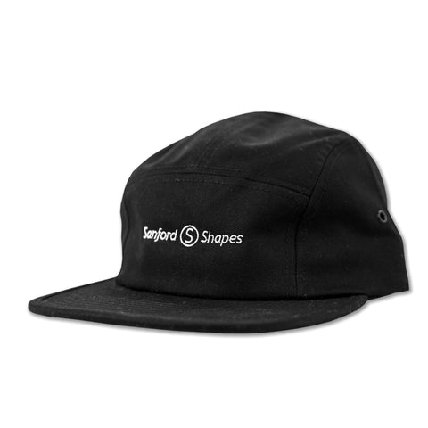 5 PANEL EMBROIDER : BLACK