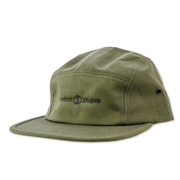 5 PANEL EMBROIDER : FORREST GREEN