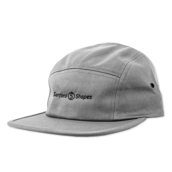 5 PANEL EMBROIDER : GREY