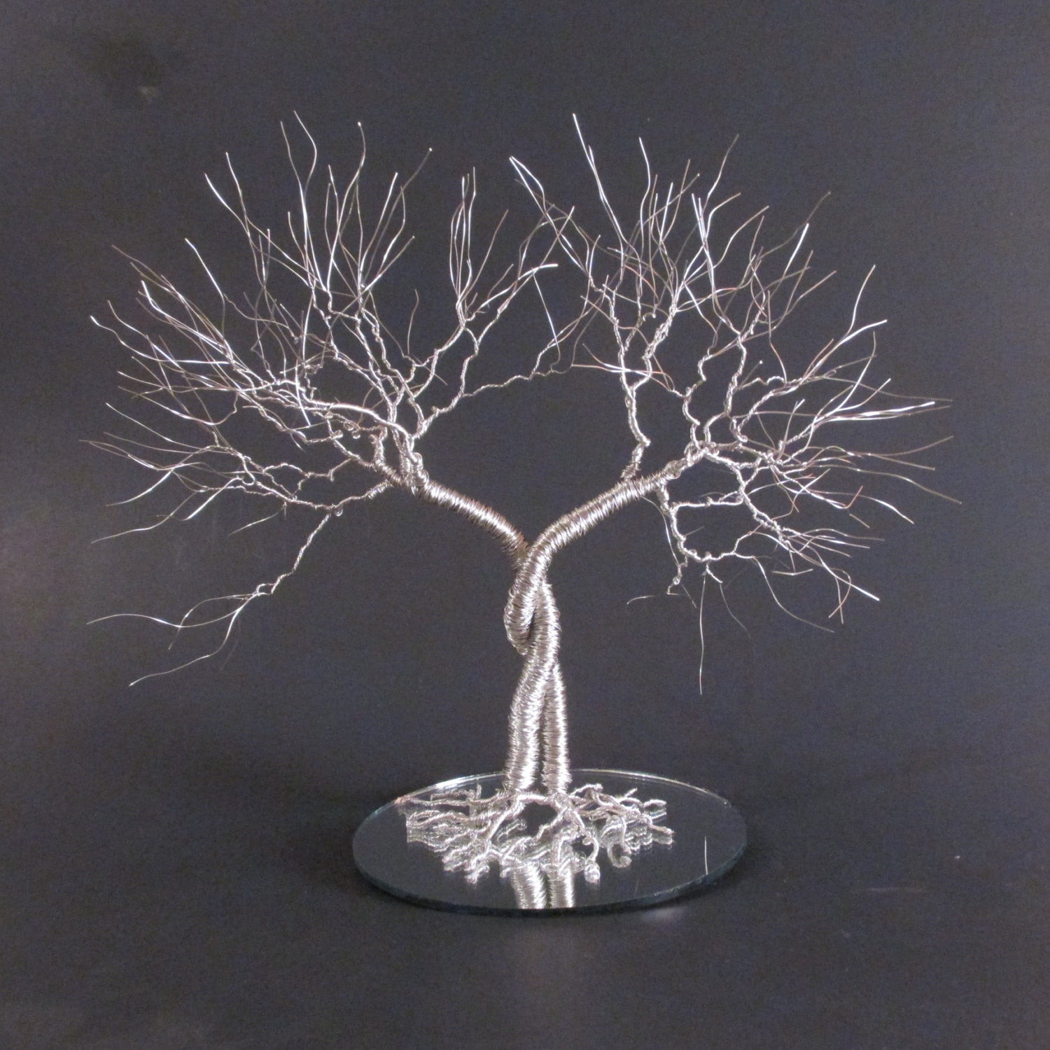 "Tree Wedding Cake Topper | Tree Cake Topper | The ""Entwined"" Cake Topper"