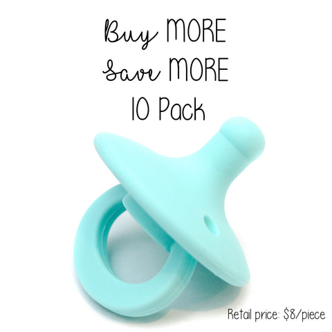 10 Pack OLI pacifier - BAHAMA - Getting Sew Crafty