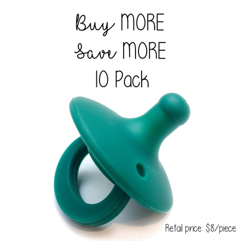 10 Pack OLI pacifier - PINE - Getting Sew Crafty