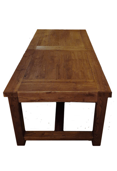 Small Empire Solid Oak Extending Dining Table - Tudor Oak Range