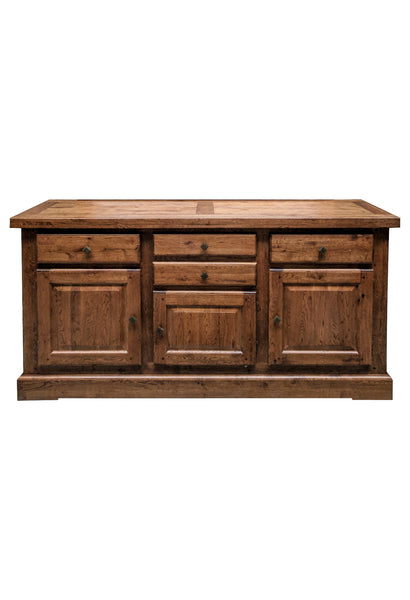 The Four drawer Oak Sideboard - Tudor range