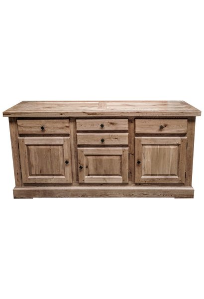 The Four drawer Oak Sideboard - Blonde range