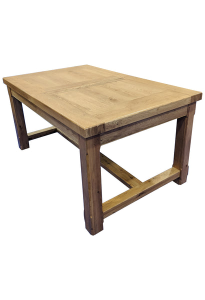 Small Empire Solid Oak Extending Dining Table - Blonde Oak Range
