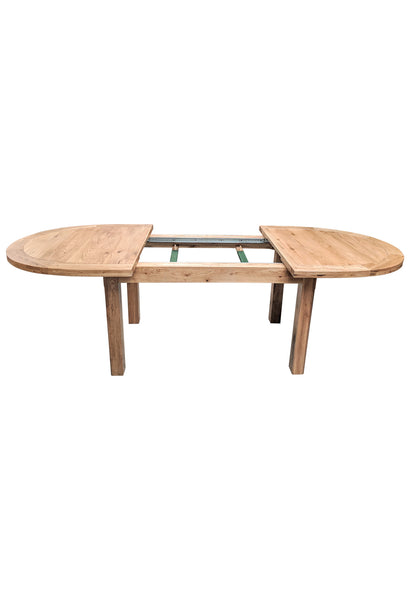 Empire Oval Extending Dining Table - Blonde range
