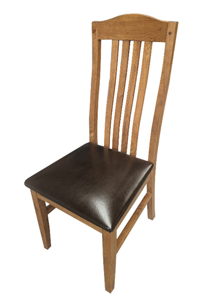 Crown Oak Dining Chair - Tudor Oak range