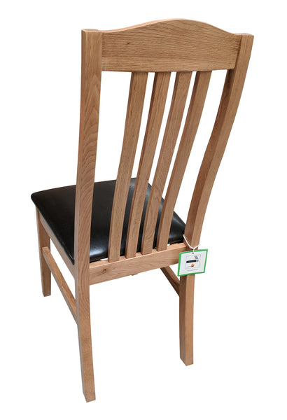 Crown Oak Dining Chair - Blonde Oak range