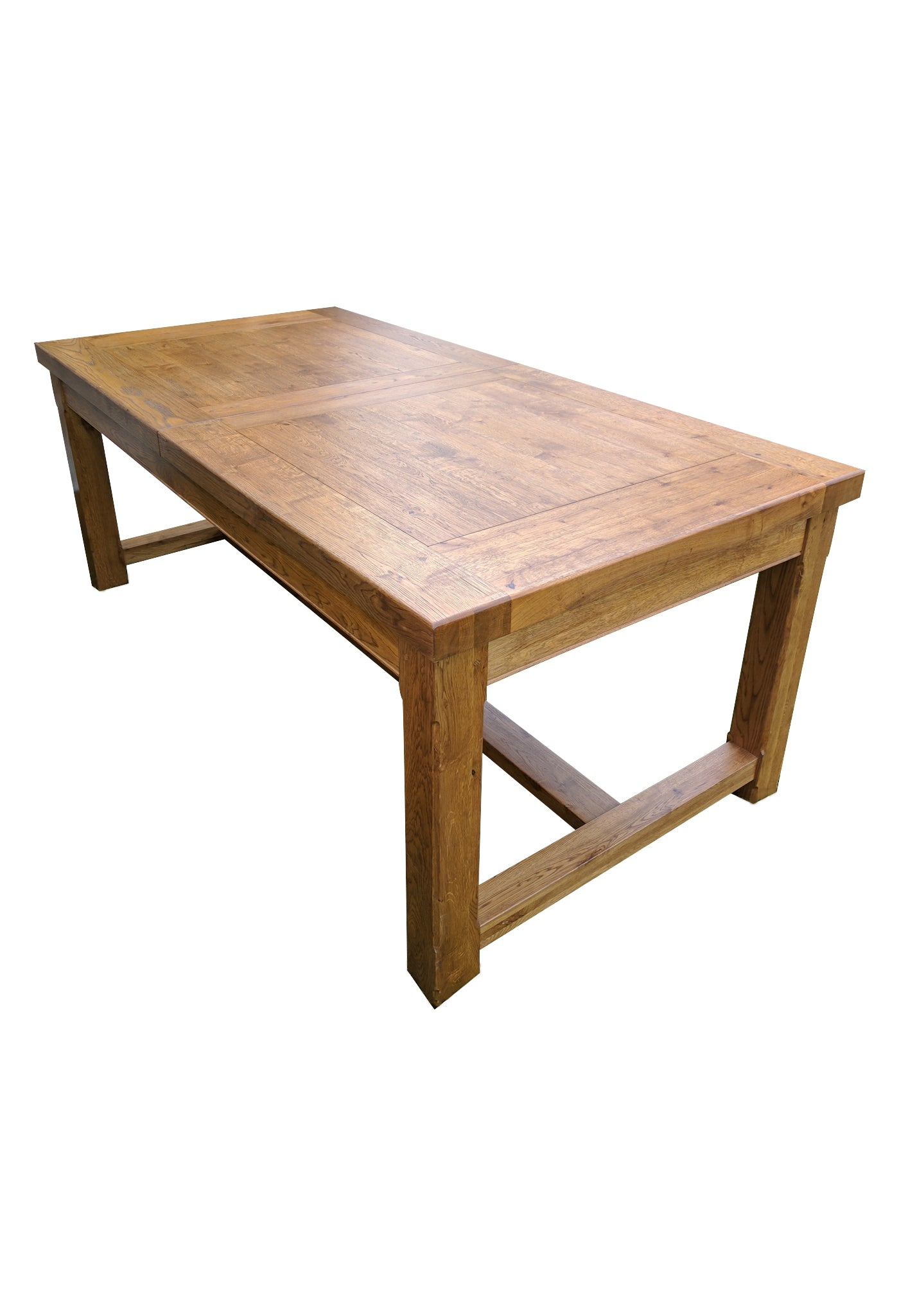 Large Empire Solid Oak Extending Dining Table