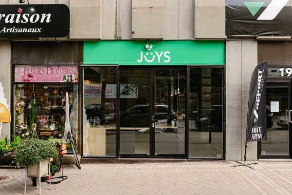 Joys Of Living Saint-Catherine Street is Now Open!