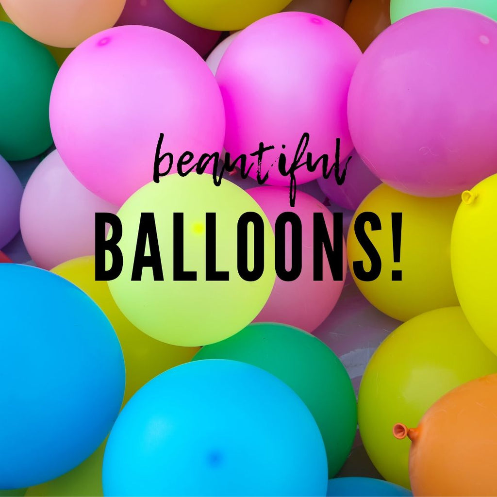 Beautiful Balloons!