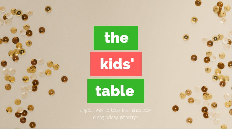 Make Your Kids' Table Shine!