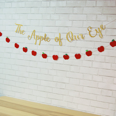 """The Apple of Our Eye"" Banner"