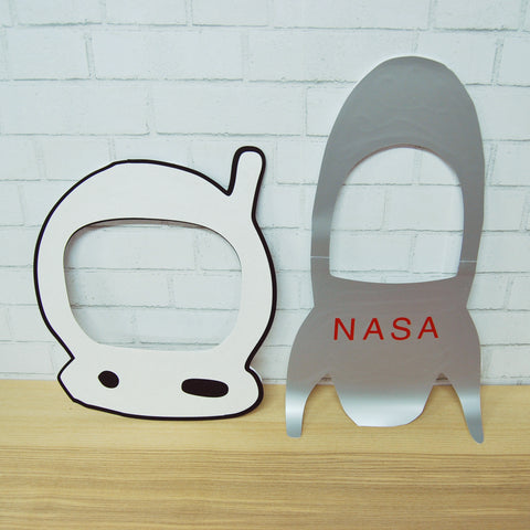 Astronaut Party Photo Booth Props
