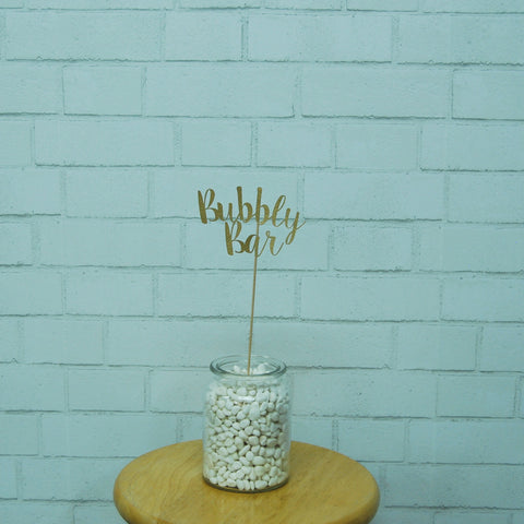 Bubbly Bar Centerpiece