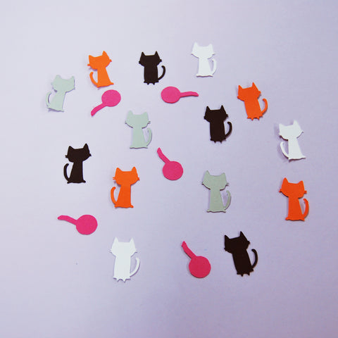 Cat Confetti for Pinterest
