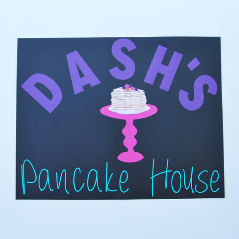 Custom Pancake House Sign