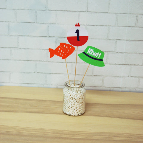 Fishing Centerpiece