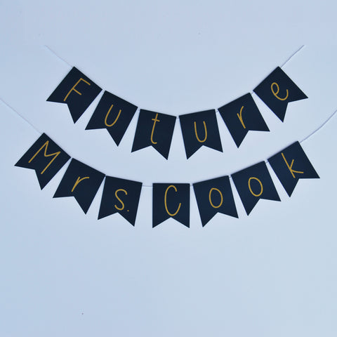 """Future Mrs."" Chair Banner"