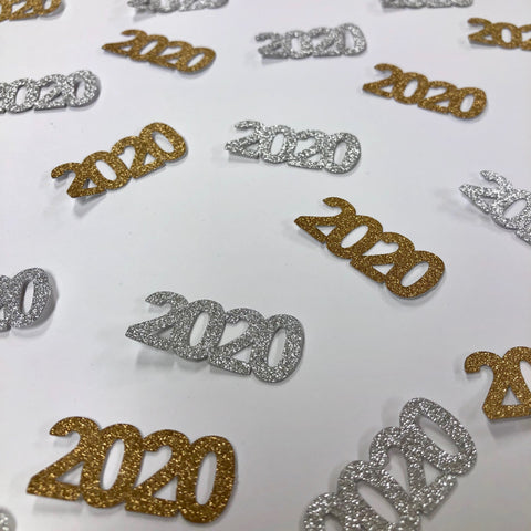 "New Year's Eve ""2020"" Confetti"