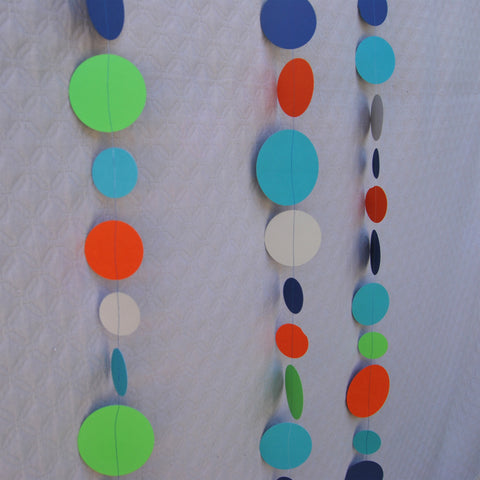 Jungle Themed Dot Garland