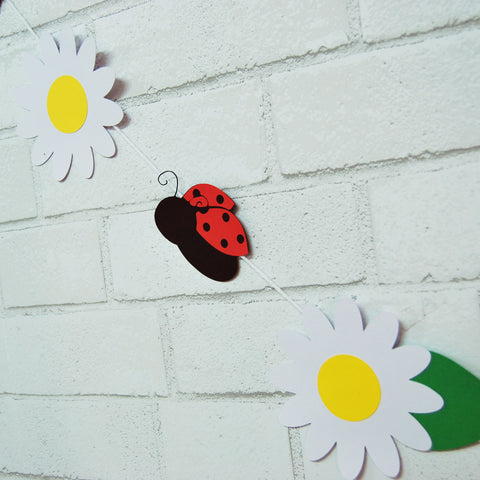 Ladybug Garland on Pinterest