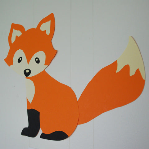 Large Woodland Fox Wall Decoration